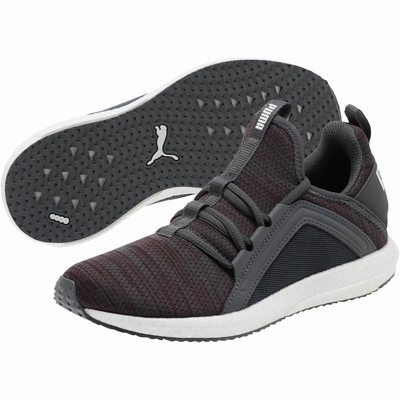 Puma Mega Nrgy Heather Knit Bayan Koşu Ayakkabısı Bordo (TR32552)